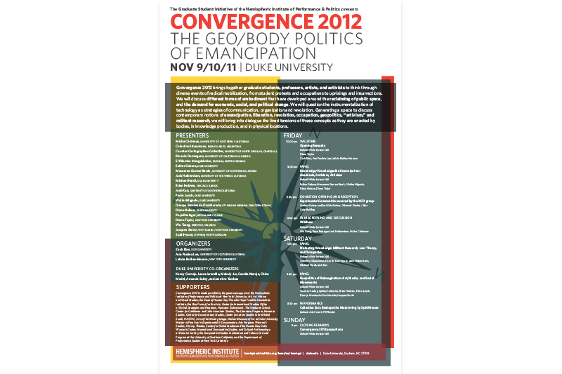 Convergence Event Poster