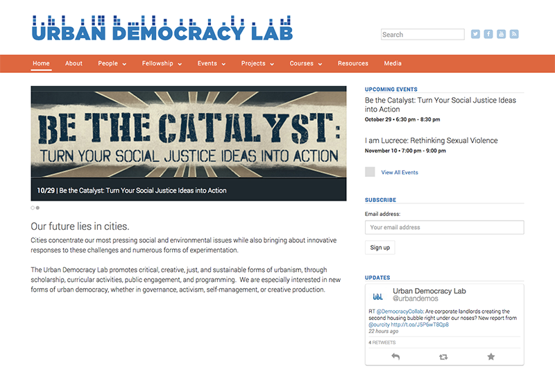 Urban Democracy Lab