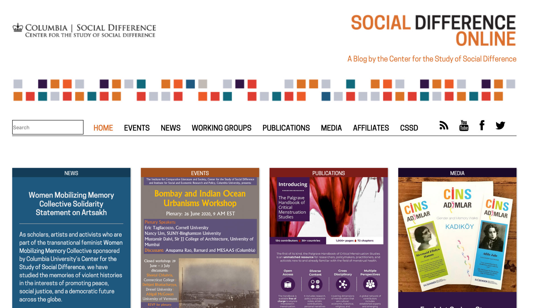 Social Difference Online
